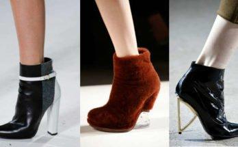 Модные ботильоны осень-зима 2015-2016