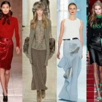 Модные юбки осень-зима