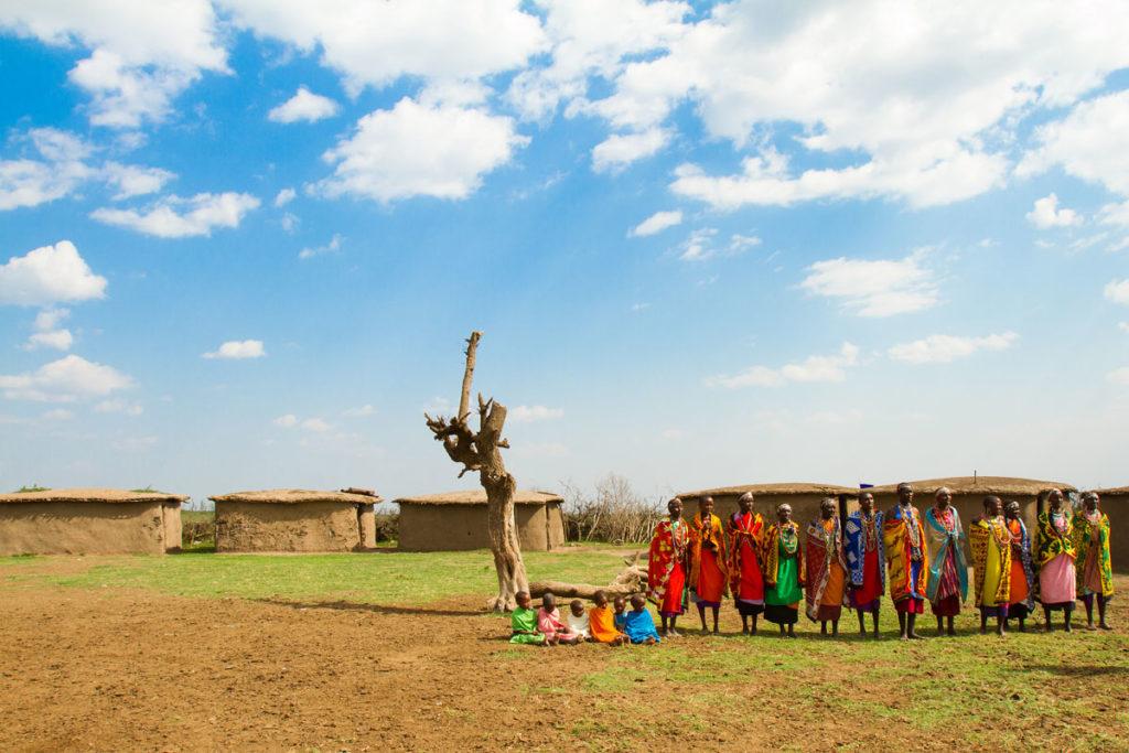 Новый год в Африке