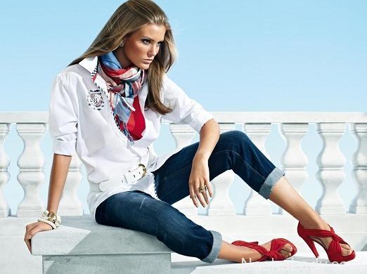 Модные женские джинсы 2015 года