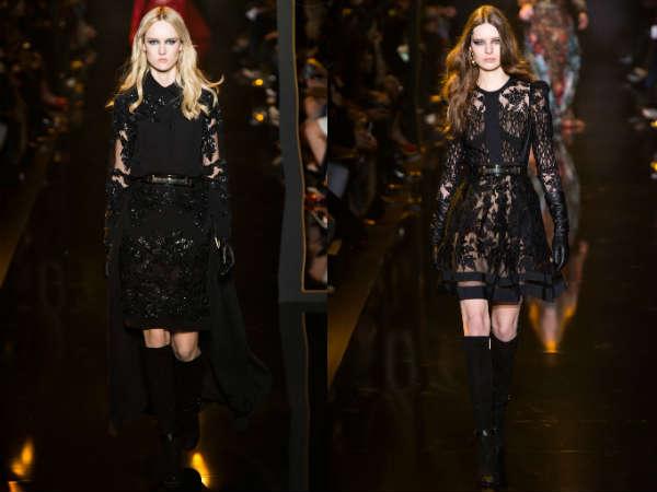 Модные цвета коктейльных платьев осень-зима