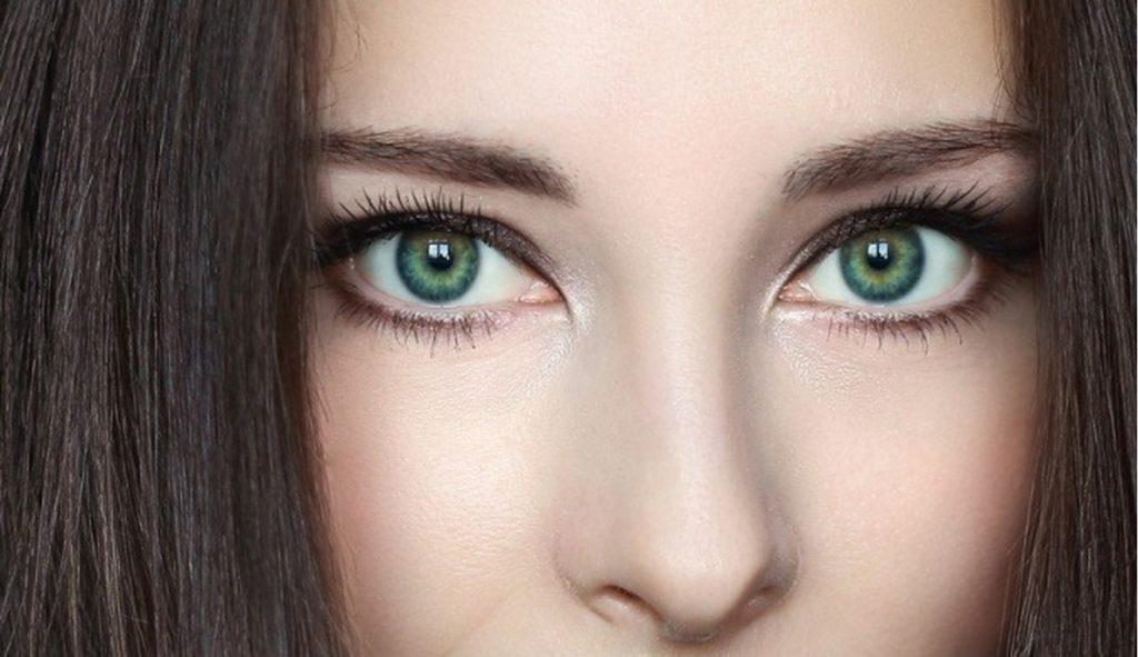 визуальное улучшение глаз макияж