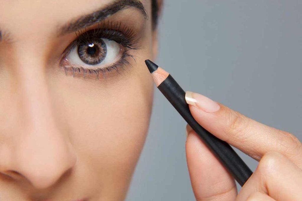 карандаш для глаз нижнее веко