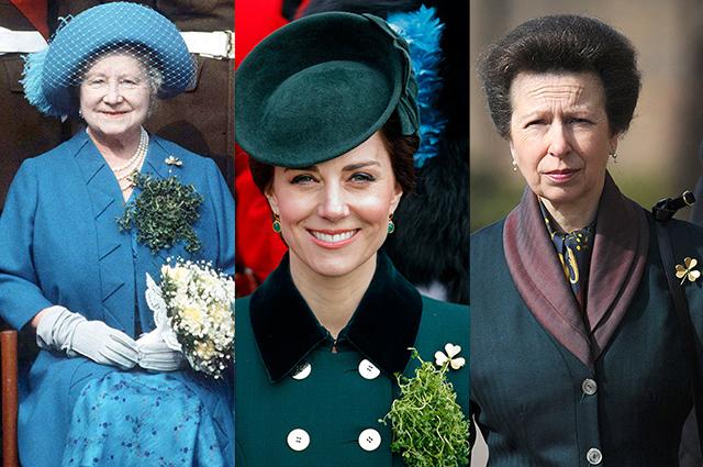 Королева-мать (Елизавета Боуз-Лайон), Кейт Миддлтон и принцесса Анна