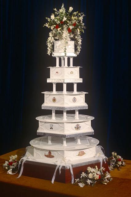 Принц Чарльз и принцесса Диана торт