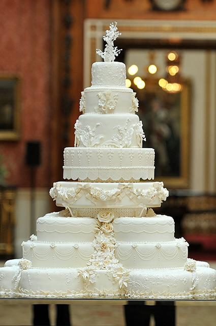 Принц Уильям и Кейт Миддлтон торт