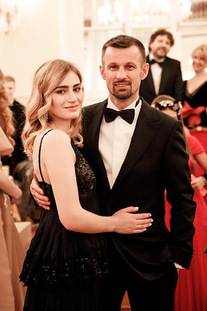 Сергей Семак с дочерью Майей