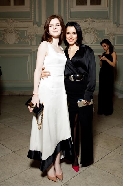 Тина Канделаки с дочерью Меланией