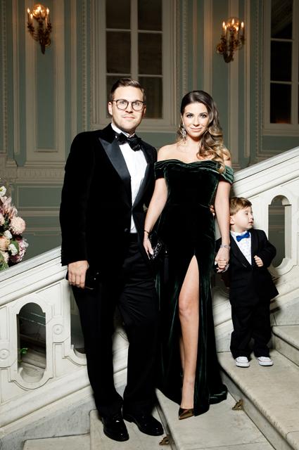 Галина Юдашкина с мужем Петром Максаковым и сыном