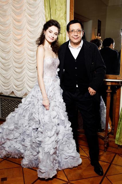 Егор Кончаловский с дочерью Марией