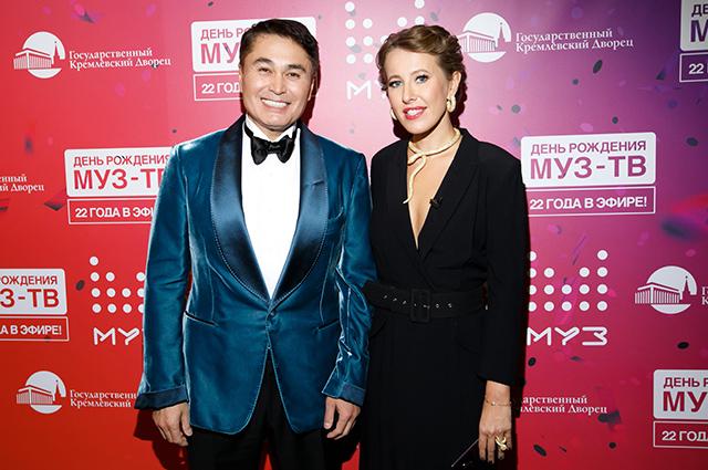 Арман Давлетяров и Ксения Собчак