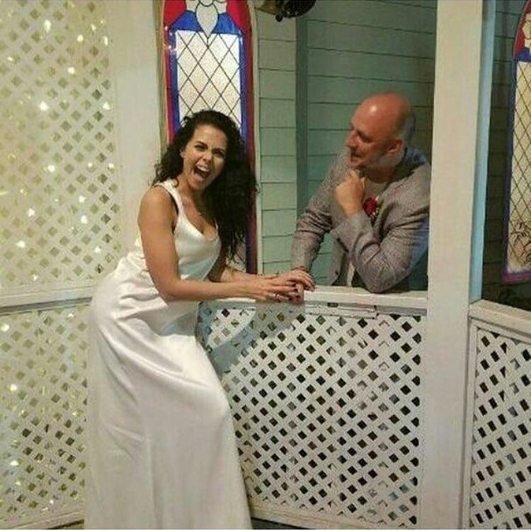 первое свадебное фото Насти Каменских и Потапа