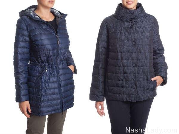 Куртка для полных осень-зима 2015-2016