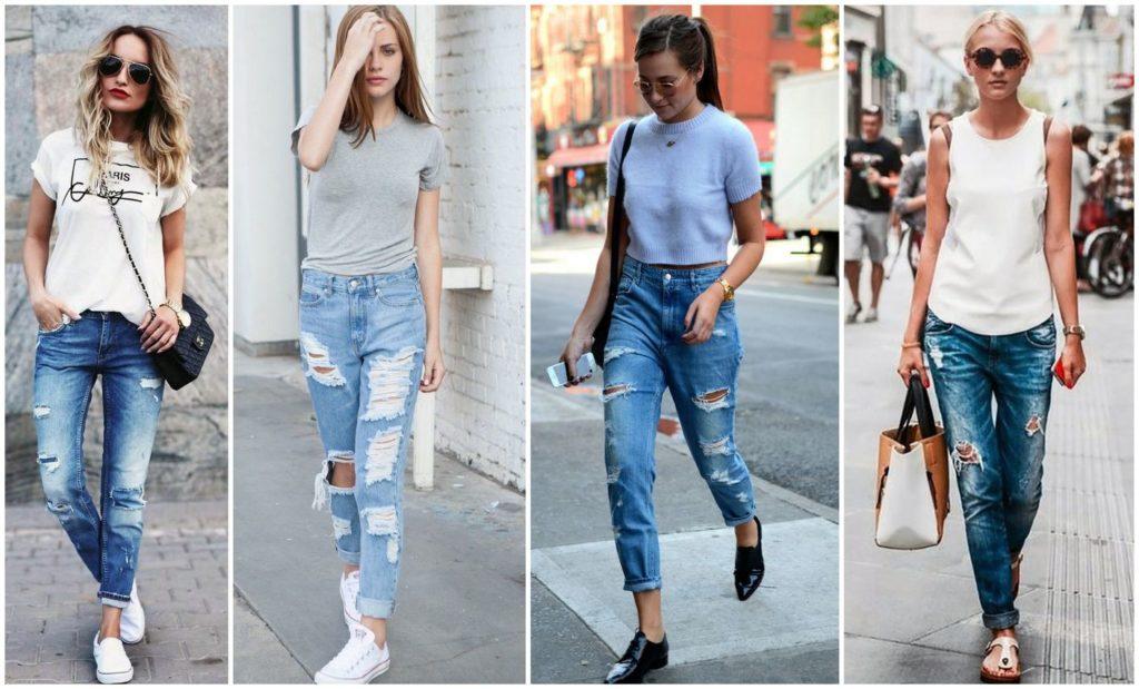 женские джинсы мода