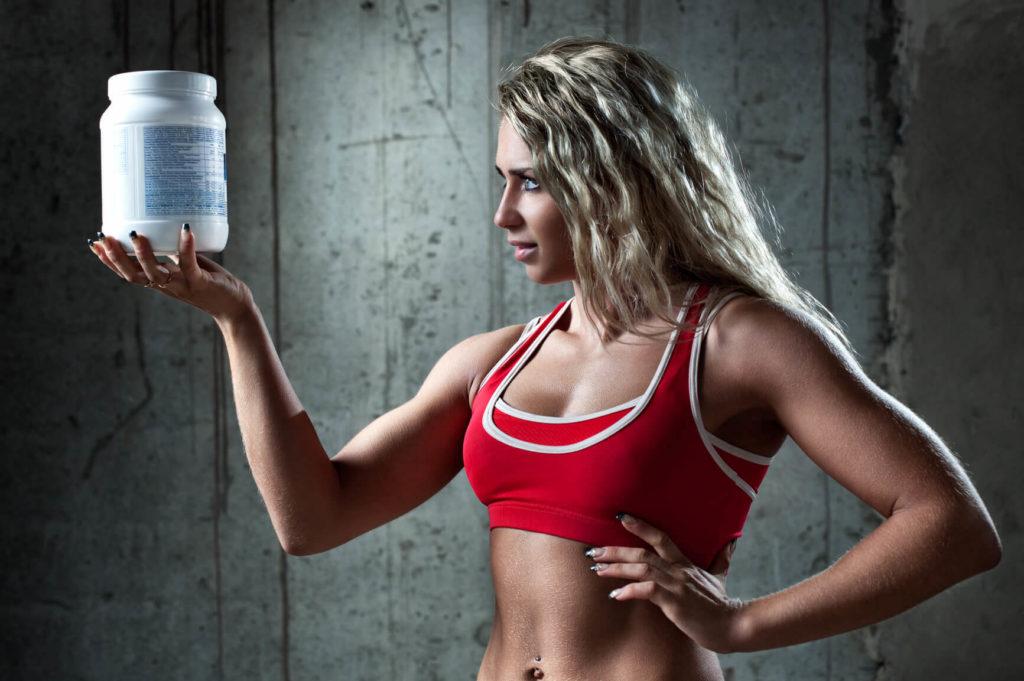 Спортивные добавки для девушек