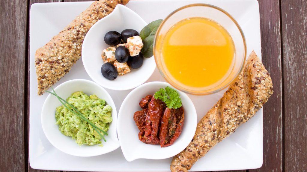 здоровый диетический завтрак
