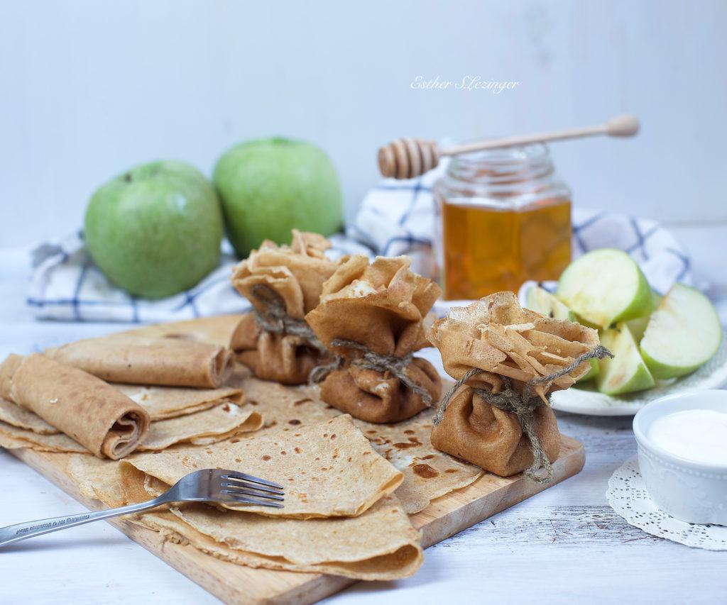диетический завтрак блинчики