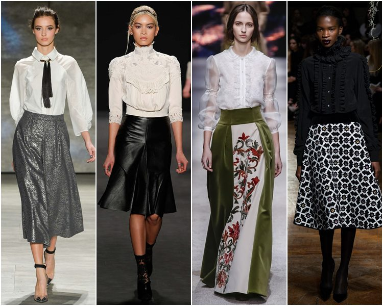 Модные блузы 2015. Тренды сезона