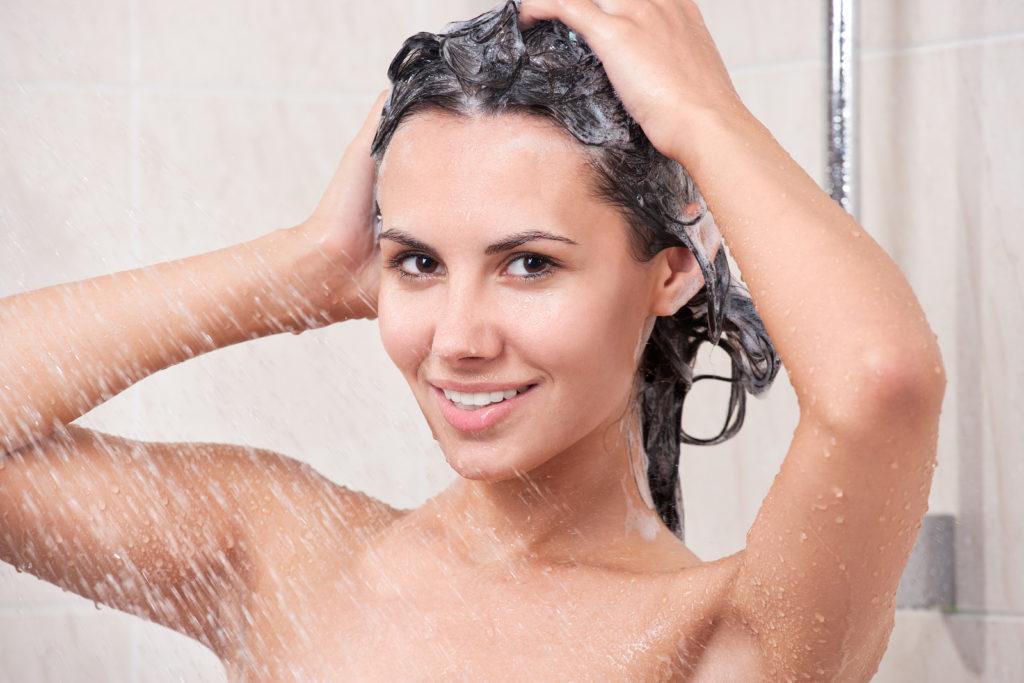 правила мытья головы