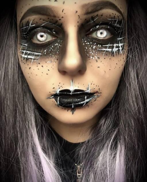 Макияж ведьмы на Хэллоуин