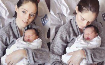Коко Роша впервые стала мамой