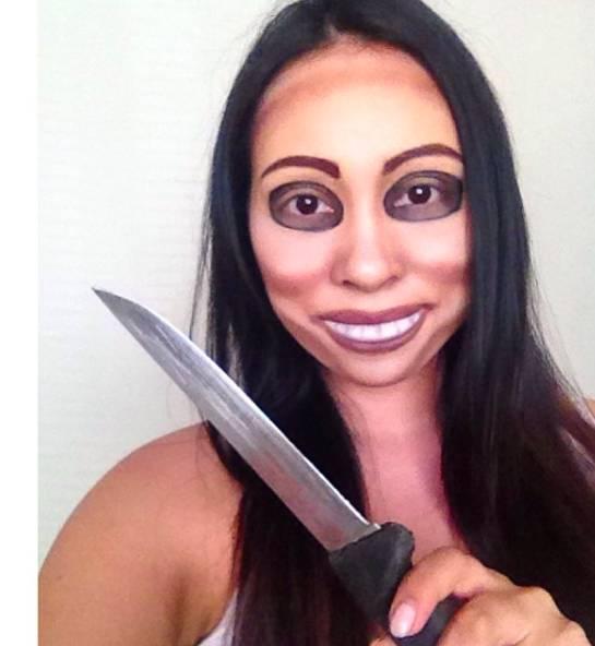 макияж Вежливый Незнакомец