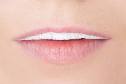 Макияж губ в стиле поп-арт