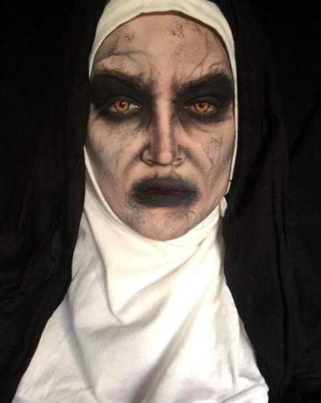 макияж монахини