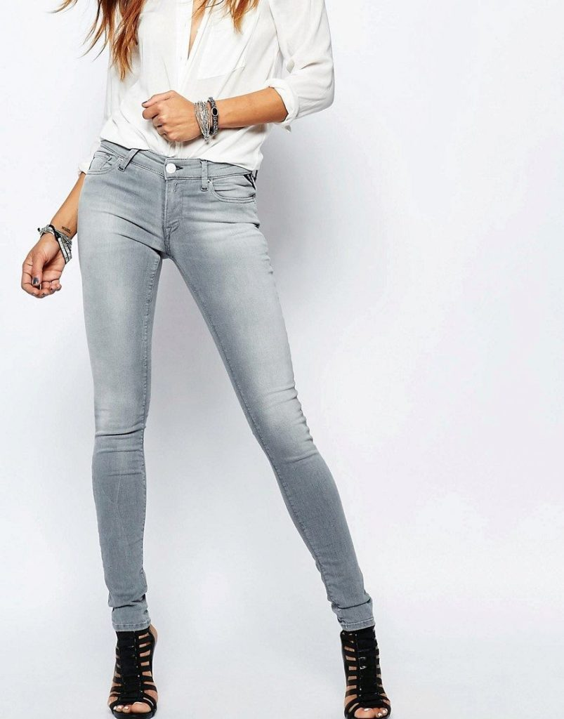 женские скинни джинсы