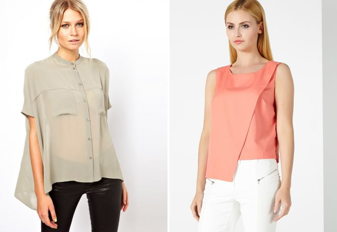 стильные блузки 2015