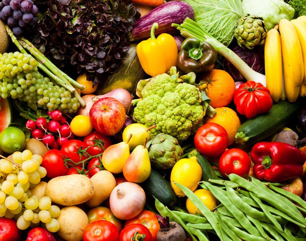 овощи и фрукты для похудения