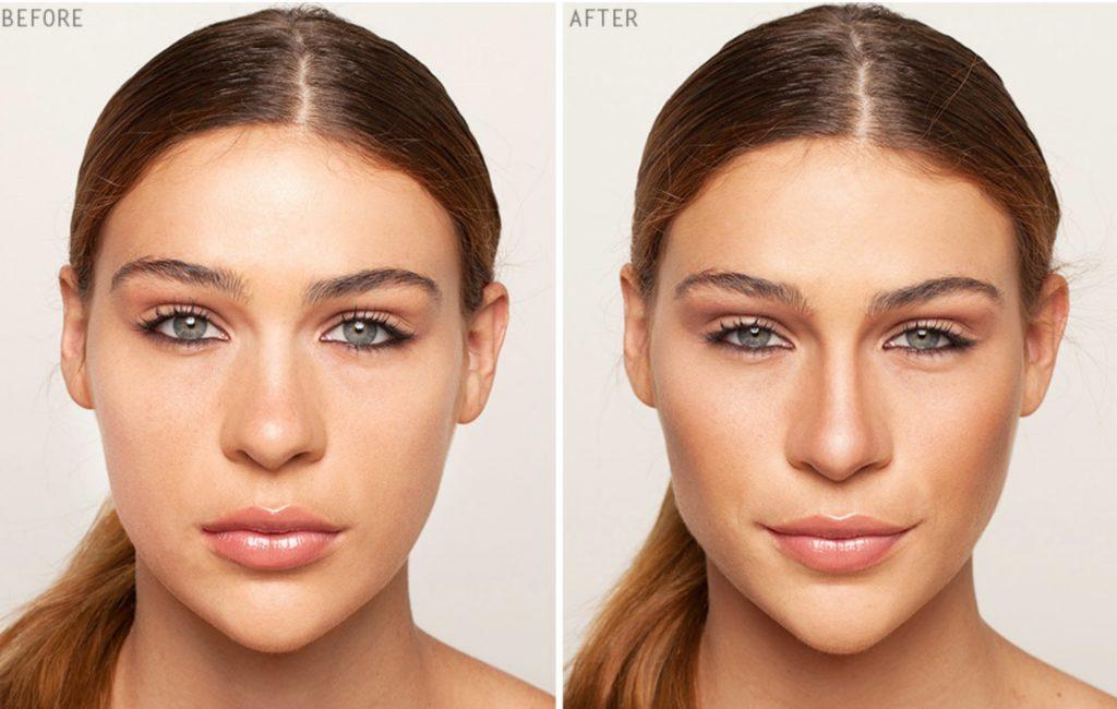 как сделать нос меньше косметика
