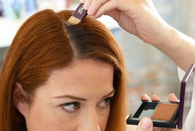 как спрятать отросшие корни волос