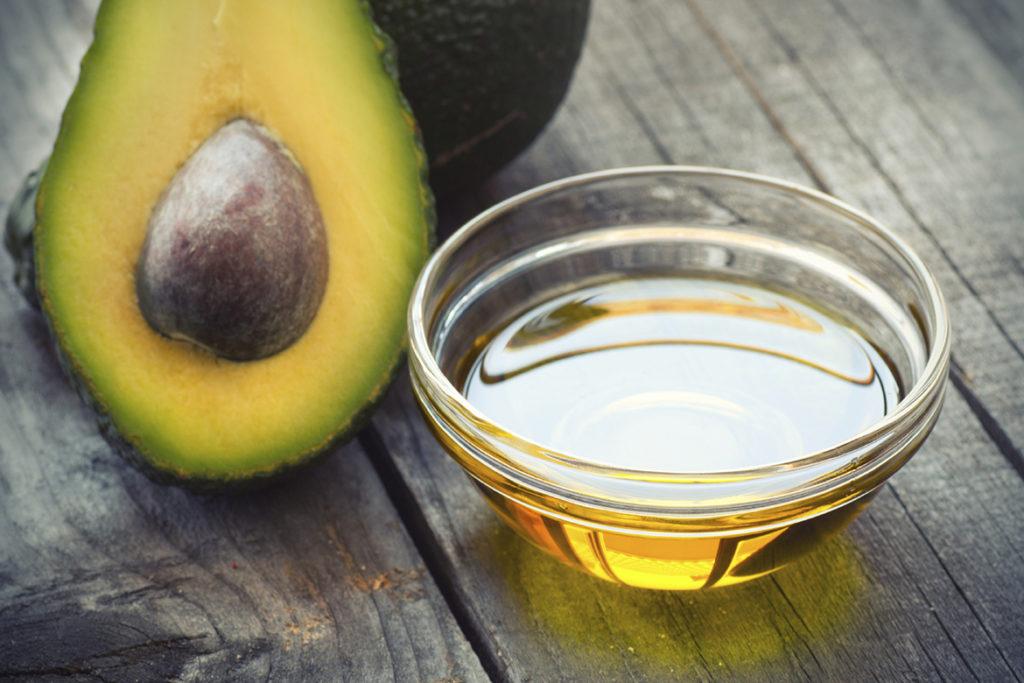 Авокадо с лимонной пастой маска для волос