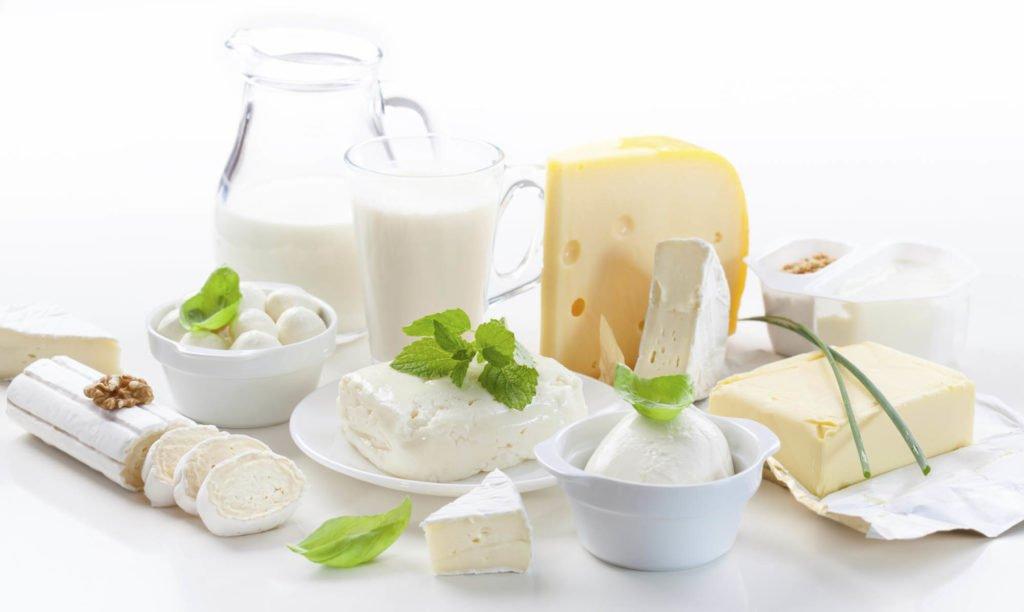Кисломолочные и молочные продукты