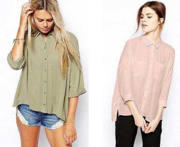 модная тенденция блузок