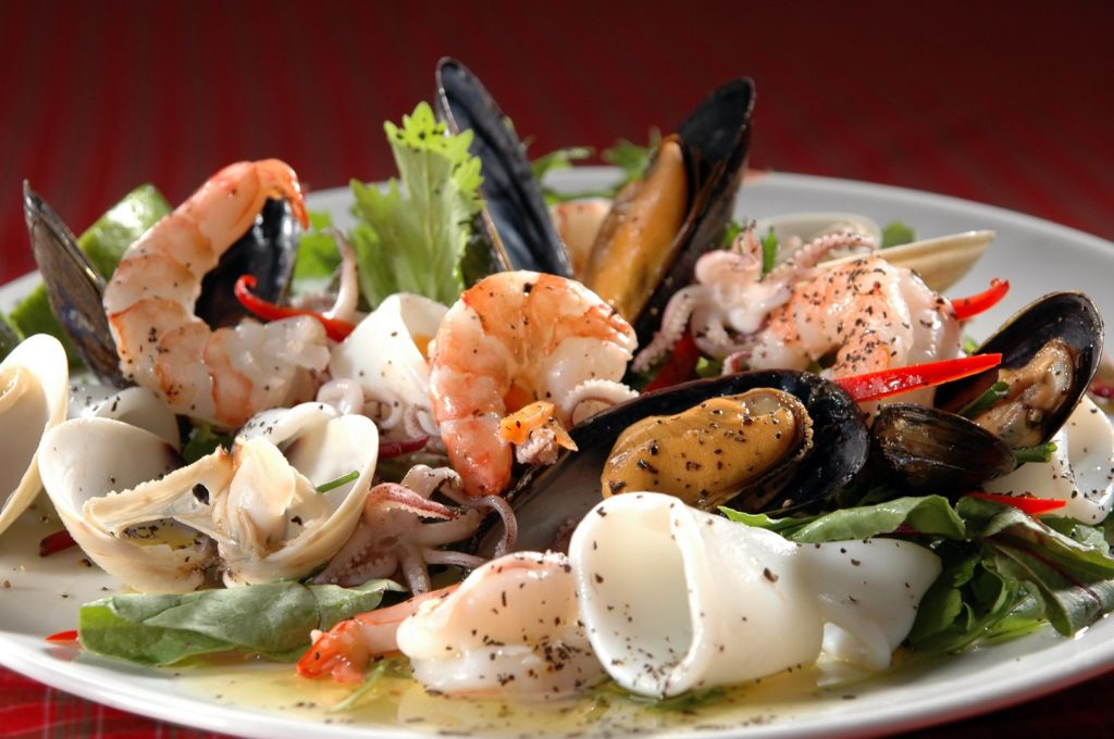 морепродукты для похудения
