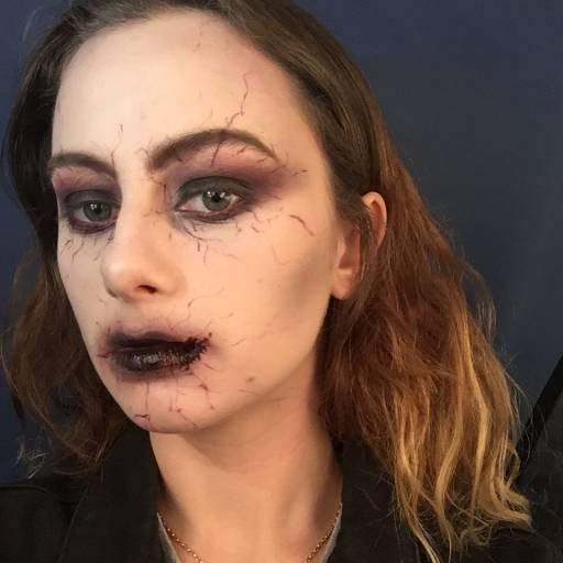 Макияж вампира на Хеллоуин