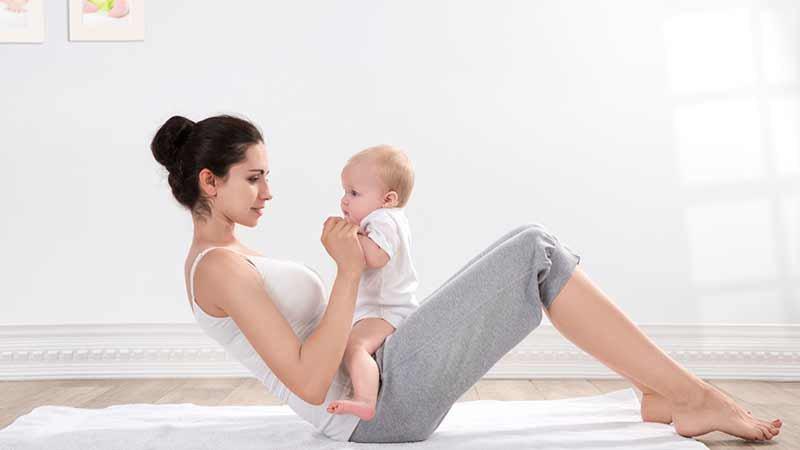 правила похудения после беременности
