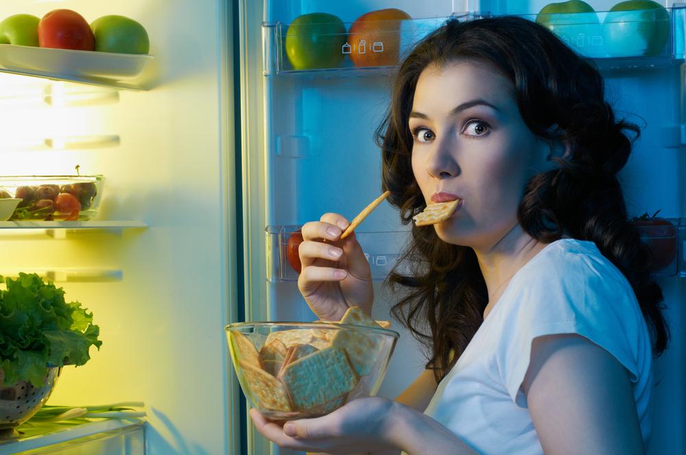 Вред еды на ночь