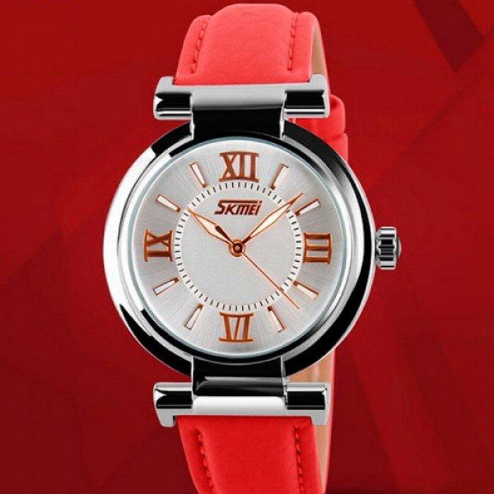 женские часы красные