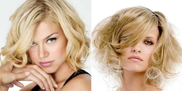 Стрижки для вьющихся волос средней длины