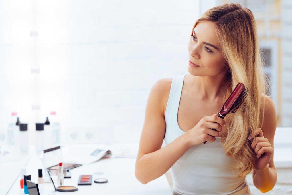 прекращение выпадения волос