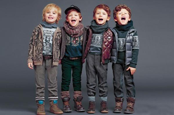 стильная детская одежда для мальчиков