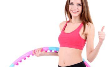 Обруч для похудения, как заниматься с обручем