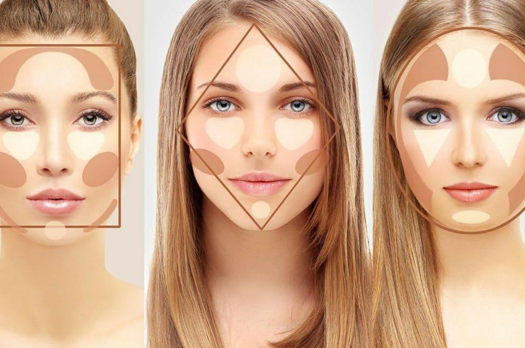 Советы косметологов Контурирование лица