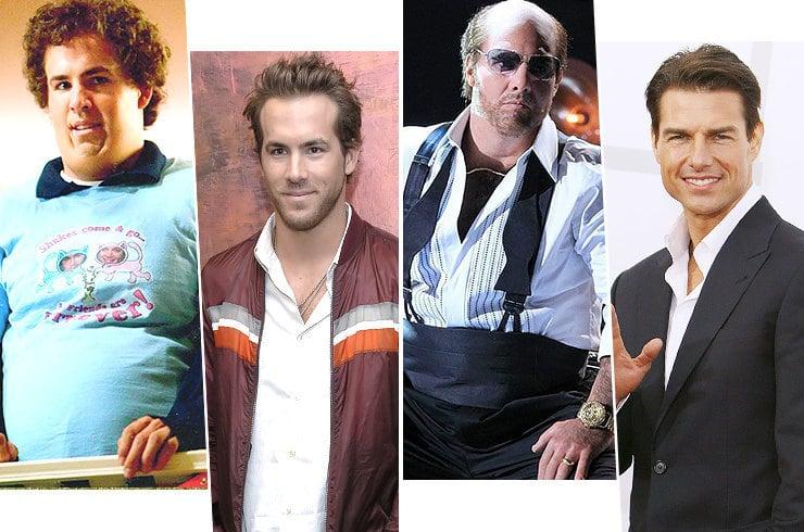 Райан Рейнольдс, Том Круз и еще 7 секс-символов в «костюмах толстяков»