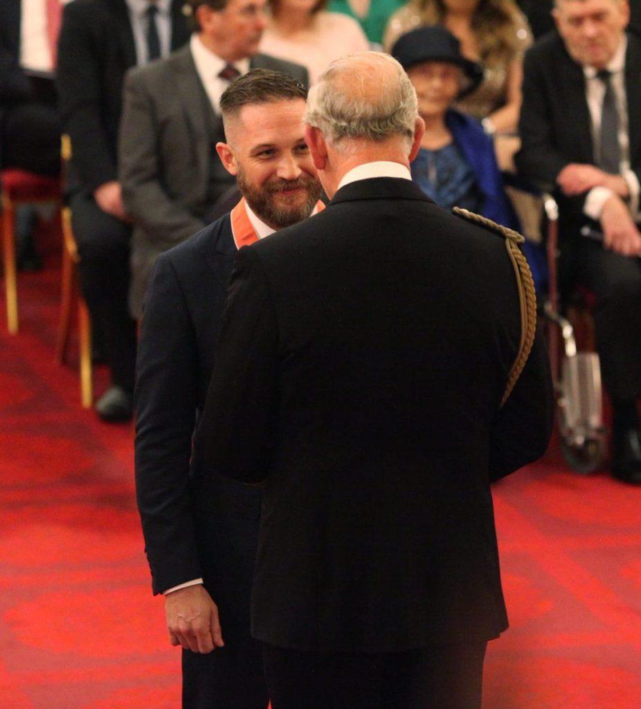 Томас Харди получил орден Британской империи