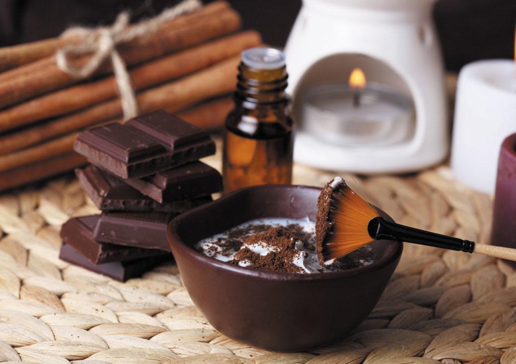 Смесь для антицеллюлитного обертыванияс шоколадом