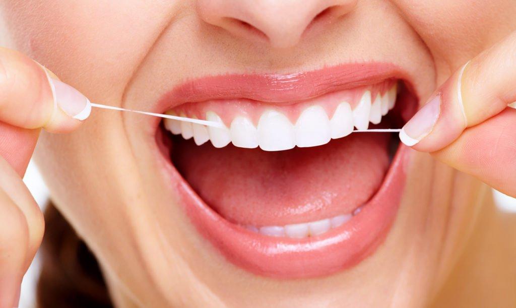 зубная нитка